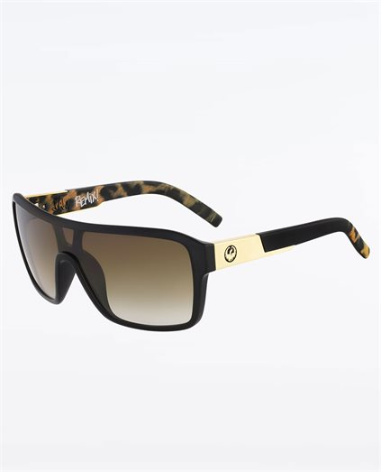 Remix Leopard Safari Bronze Grad Sunglasses