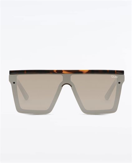 Unisex Hindsight Tort Brown Sunglasses