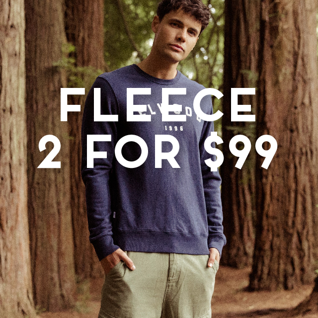 Ozmosis 2 for $99 Fleece promo mens and womens offer  640x640