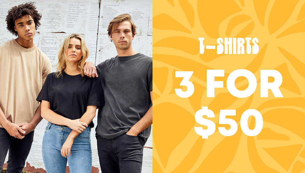 ozmosis 3 for $50 mens and womens tee offer 1000x568