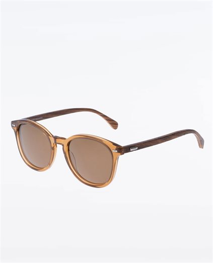 Risky Business Clear Brown Polarised Sunglasses
