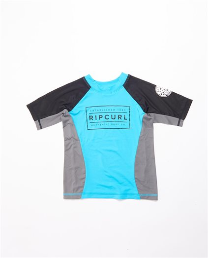 Boys Driven Box Short Sleeve Rashie