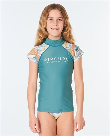 Cap Sleeve UV Tee Rash Vest Girls (8 - 16 years)