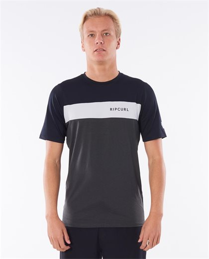Underline Panel Short Sleeve Uv Tee