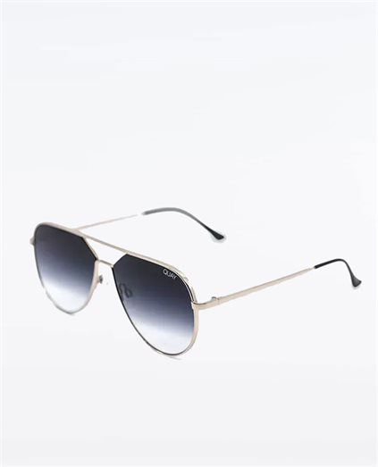 Hold Please Gold Fade Sunglasses