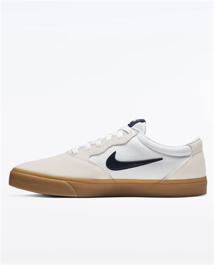 Nike SB Chron Solarsoft Obsidian White Shoe