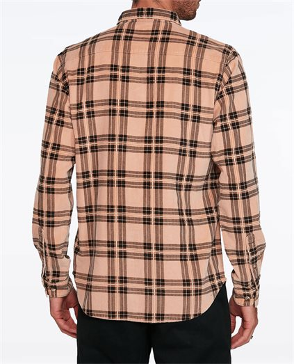 Villains Plaid Long Sleeve Shirt