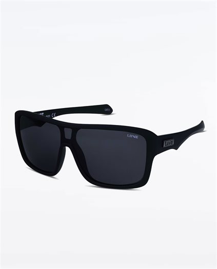Verdict Polarised Matte Black Sunglasses