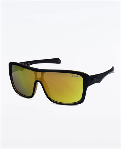 Verdict Mirror Matte Black Orange Sunglasses