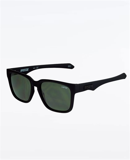 Breeze Matte Black Sunglasses