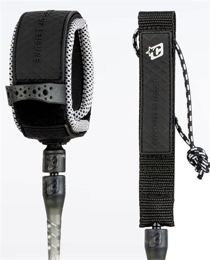 Creatures Pro 6 Leash Clear Black