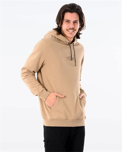 Paint Brush Hooded Fleece