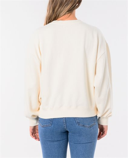 Misty Morning Long Sleeve Fleece Top