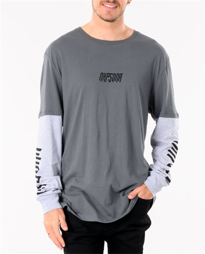 Ashes To Ashes 2 In 1 Long Sleeve Tee