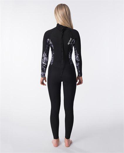 Dawn Patrol 3/2mm Back Zip Womens Wetsuit Steamer