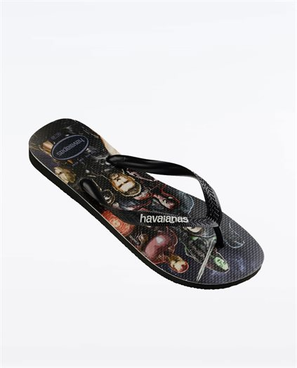 Havs Kids Top Marvel Blk/Blk