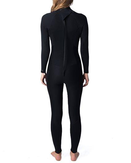 Peak Womens Energy 4/3mm GB Back Zip Wetsuit Steamer