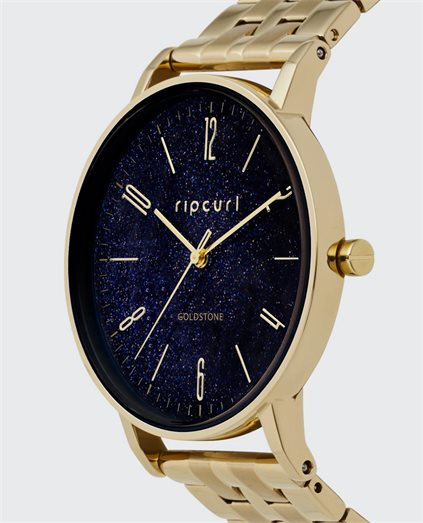Latch Stainless Steel Blue Goldstone Watch
