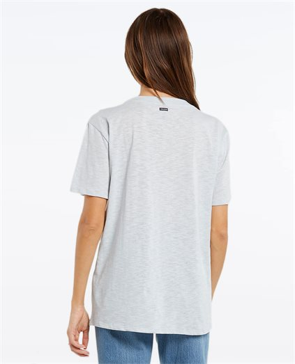 Solid Bf S/S Tee