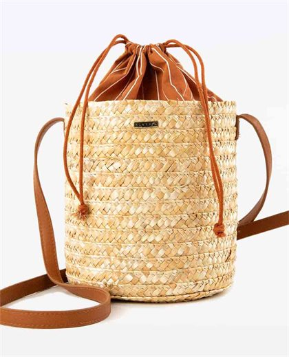 Sail Away Beach Bag Natural