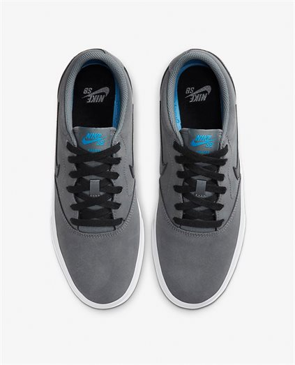 Nike SB Charge Grey Suede Shoe