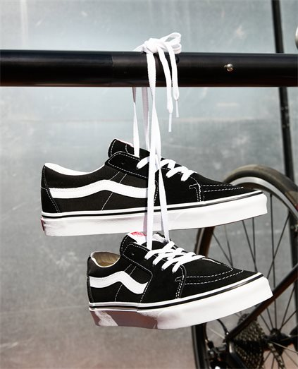 Vans Sk8 Low Black White