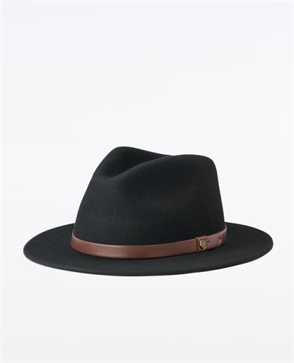 Messer Fedora Black/Brown