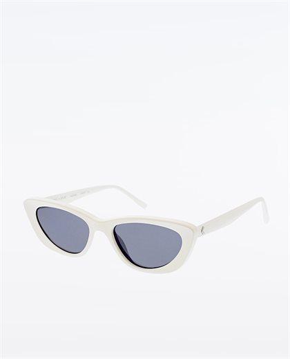Alessia Shiny Opaque White