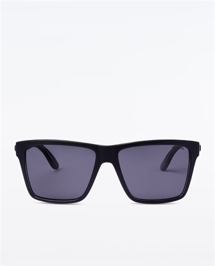 Bazza Polarised Matte Black Xtal Sunglasses