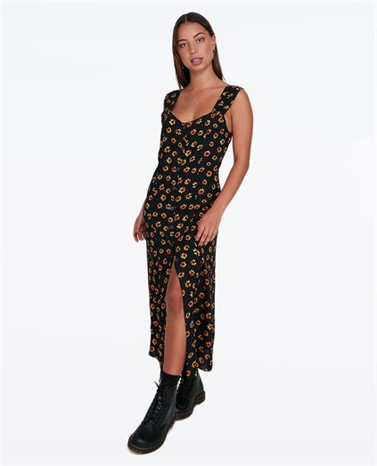 Pushin Daisies Midi Dress