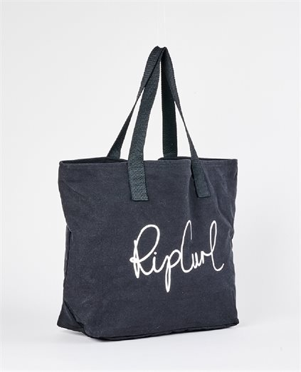 White Wash Basic Tote