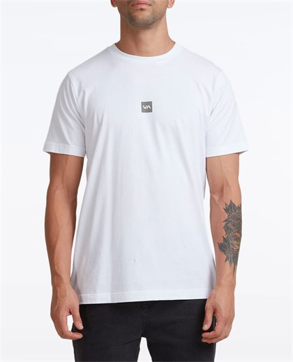 Down The Spine SS Tee - White