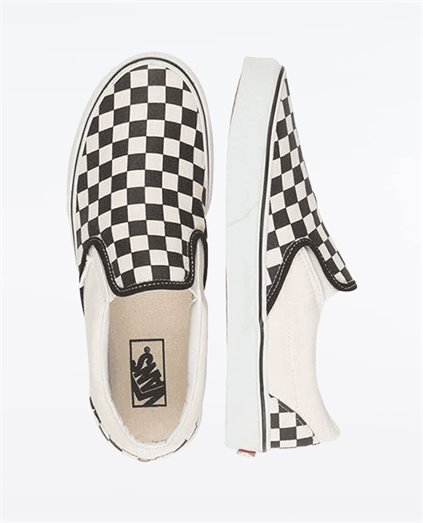 CSO Checkerboard Slip On Shoe