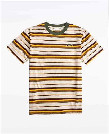 Everyday Stripe Tee - Natural
