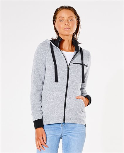 Luxe Zip Through Hood