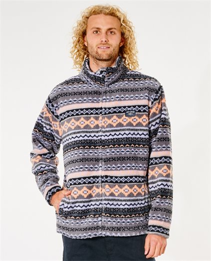 Aztrip Zip Through Printed Polar Fleece