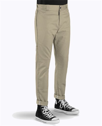 Double Knee Skinny Fit Pant