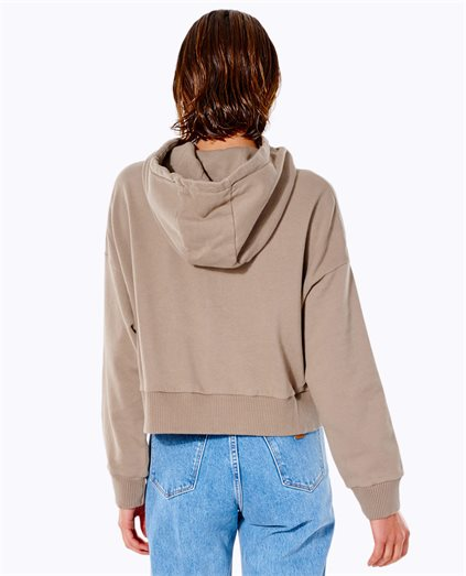 Rise Above Recycled Crop Hood