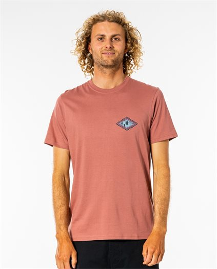 Swc Rubber Soul Tee - Washed Wine