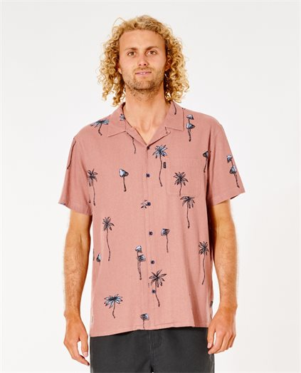 Shroom Vaction S/S Shirt - Washed B