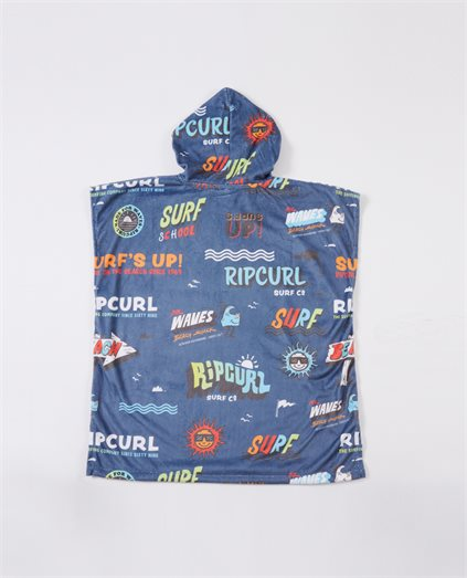 Hooded Print Towel - Youth